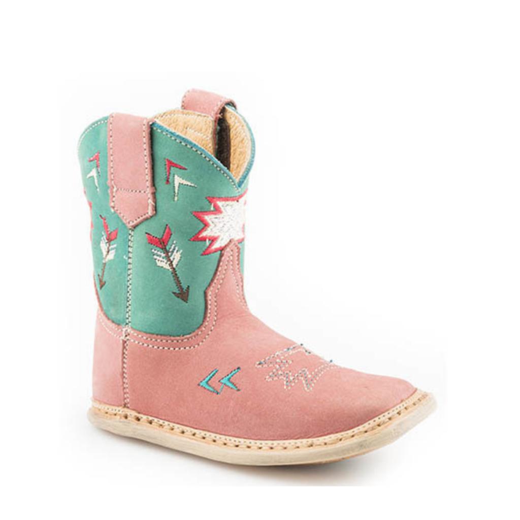 Roper Infant Pink Boots