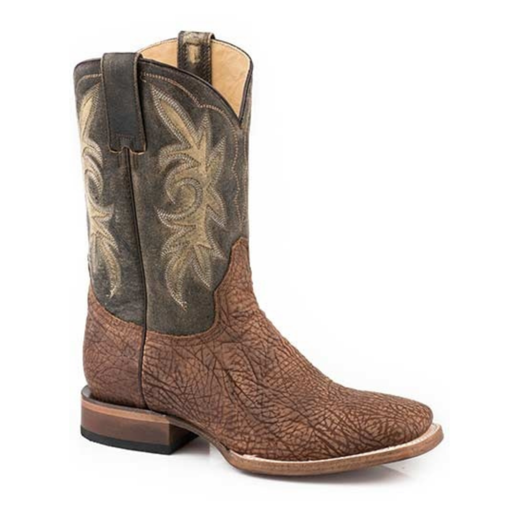 Stetson   Distressed Brown Bull Shoulder Boot