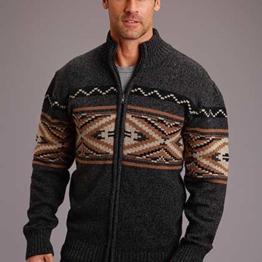 Stetson | Wool Aztec Cardigan