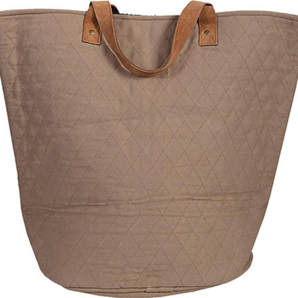 Woven Oval Base Handbag B303
