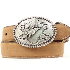 Nocona   Rodeo Cowboy Leather Belt