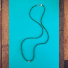 Cynthia Out West | Green Turquoise Necklace