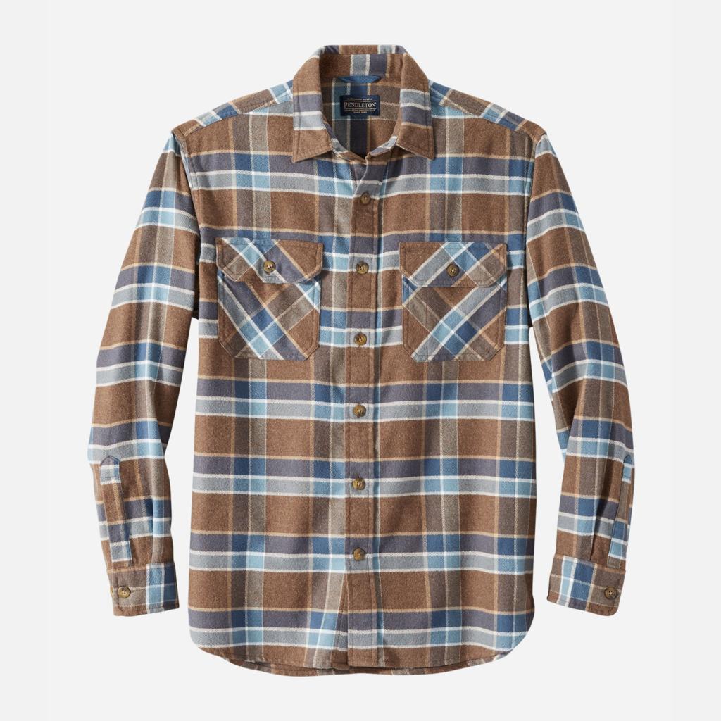 Pendleton Burnside Double-Brushed Flannel Shirt