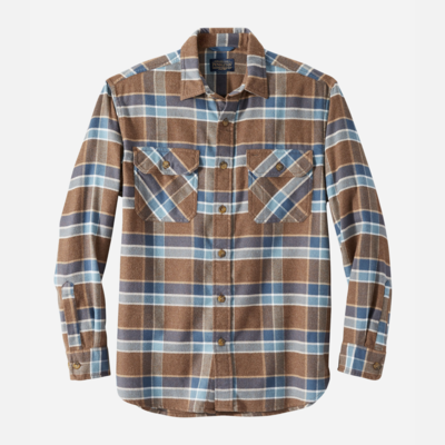 Pendleton Burnside Double-Brushed Flannel Shirt