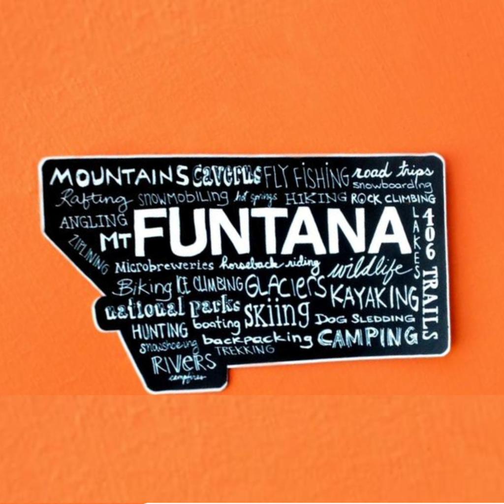Funtana Sticker