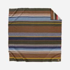 Pendleton Pendleton | Napped Dobby Queen Blanket | Bridger Stripe