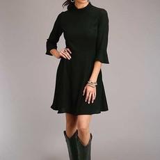 Poly Crepe Knee Length Dress
