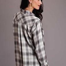 Stetson | Smokey Ombre Plaid Western Shirt