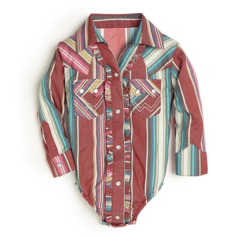 Wrangler   Multi Stripe Bodysuit