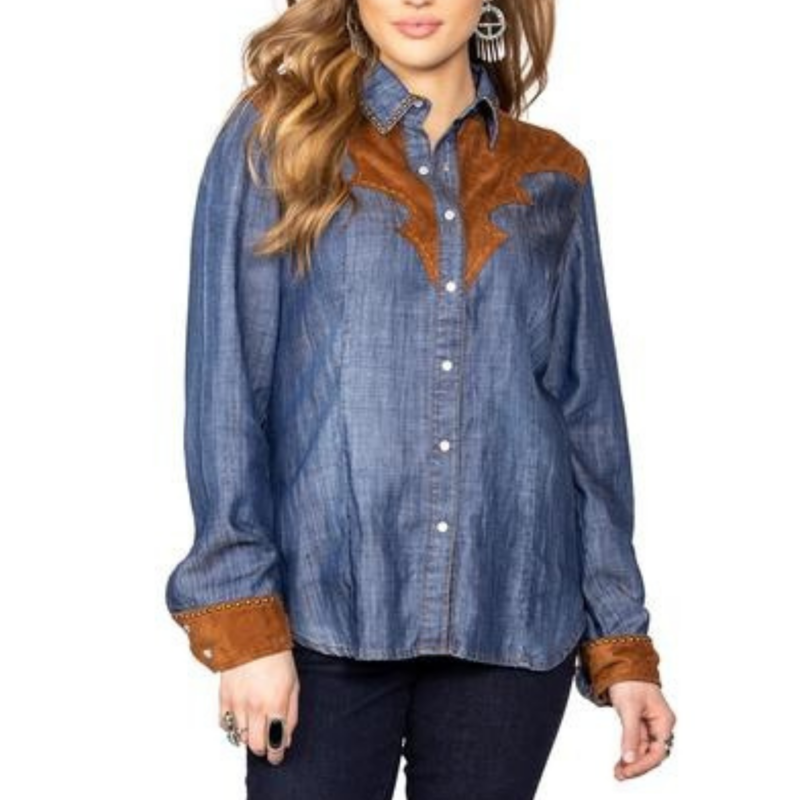 Double D Ranch | Dirt Track Workshirt