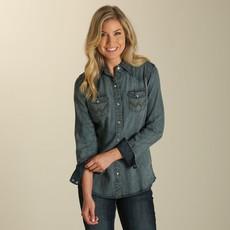 Wrangler | Long Sleeve Western Snap Shirt