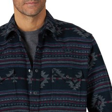 Retro Snap Long Sleeve Shirt