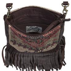 Woven Cotton/Wool Handbag