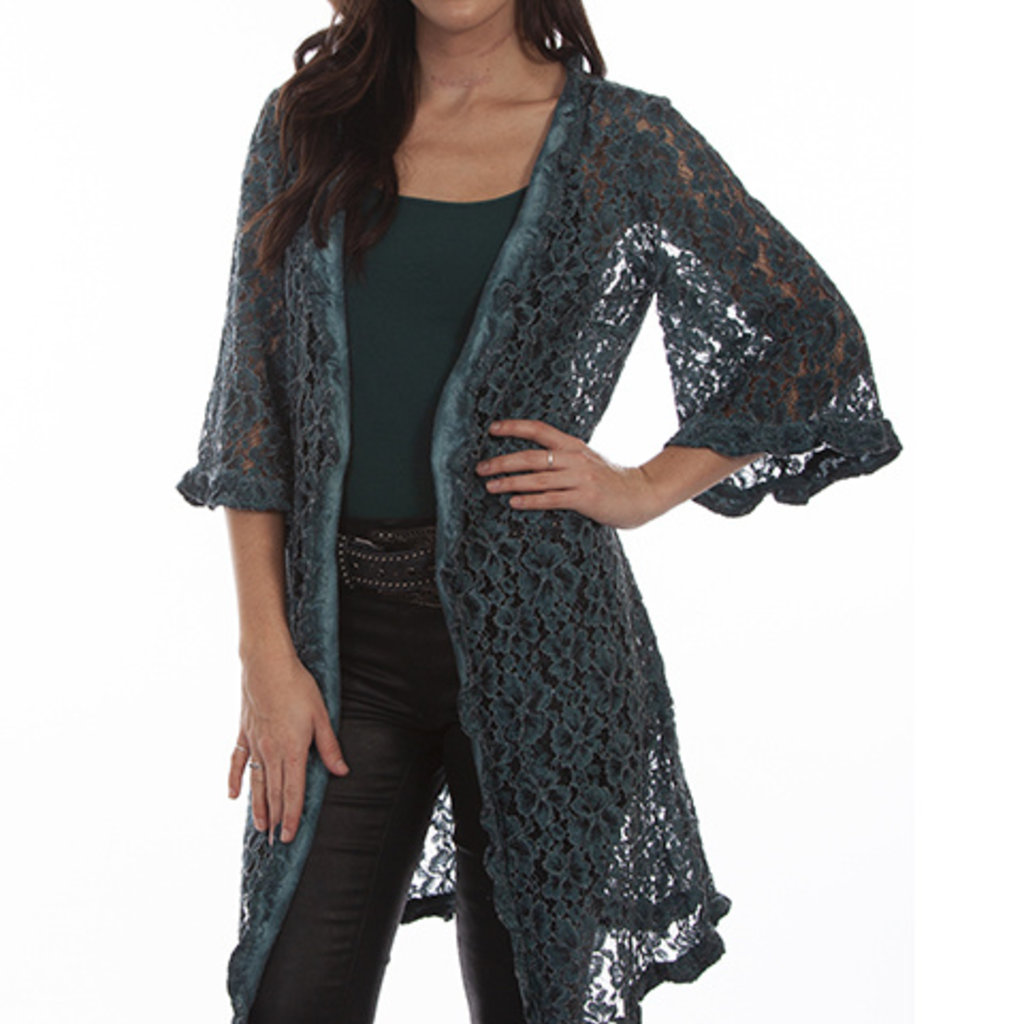 Scully | Floral Lace Cardigan