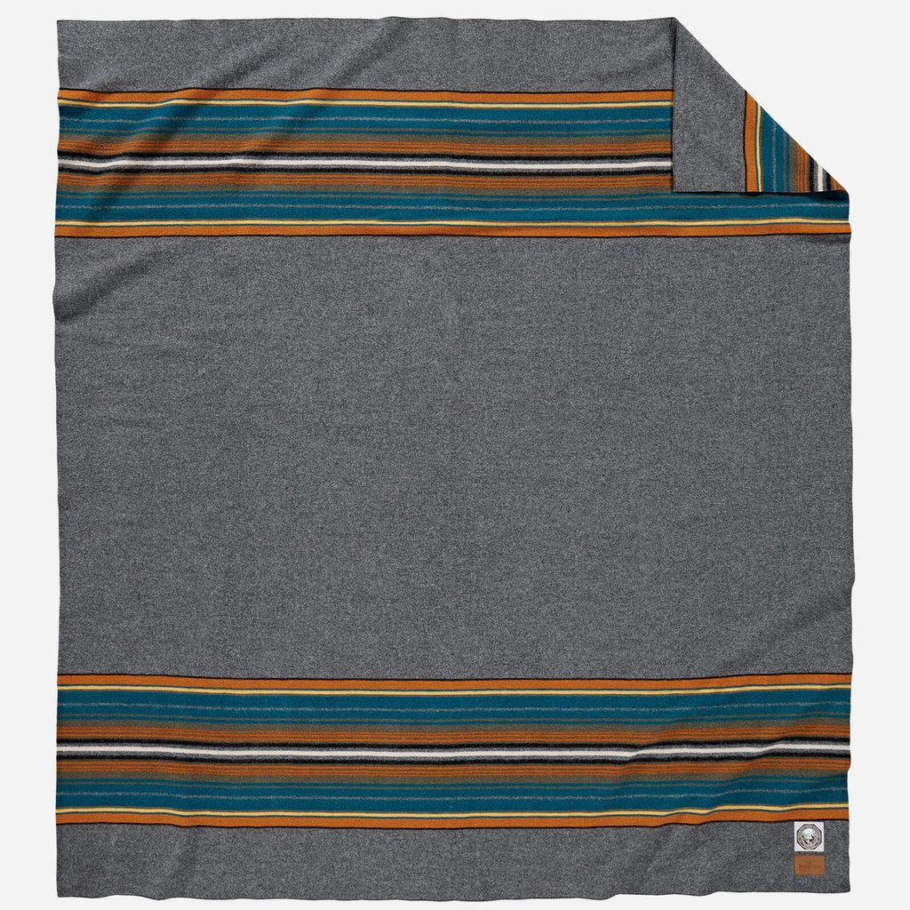 Pendleton National Park Full Blanket in Olympic Grey