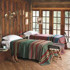 Pendleton Yakima Camp Queen Blanket in High Ridge