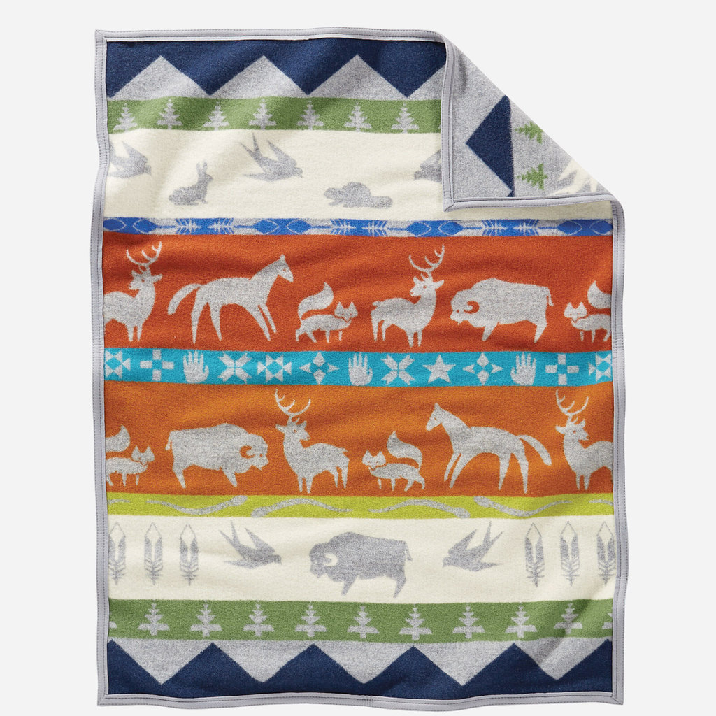 Pendleton Jacquard Feltbound Muchacho in Shared Paths Grey Mix