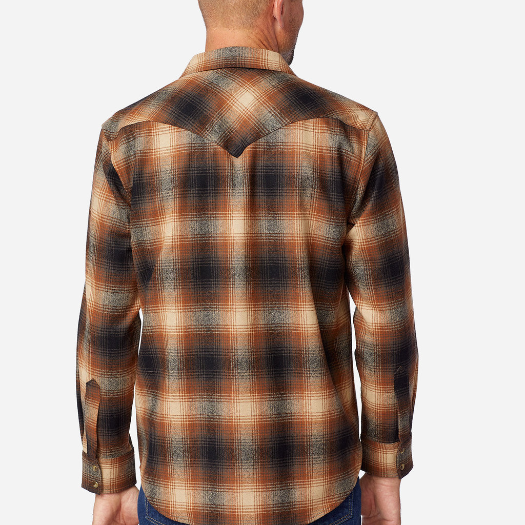 Pendleton Canyon Shirt - Tall in Brown Ombre