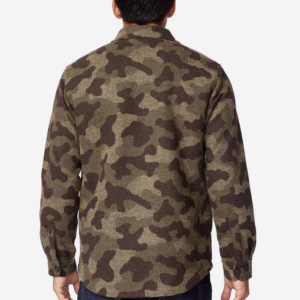 Pendleton Camo CPO Jacket in Camo Jacquard