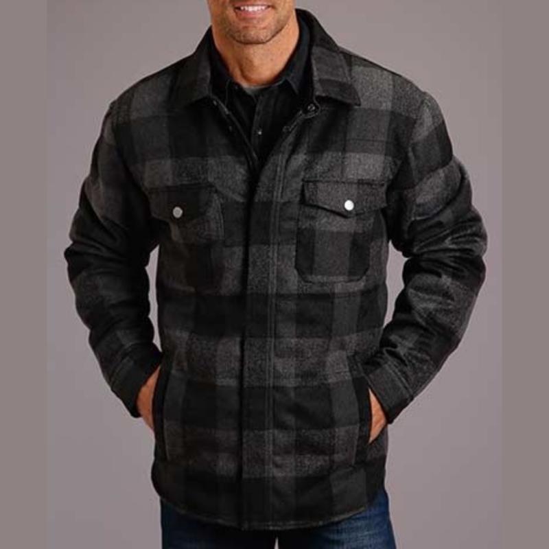 Stetson | Buffalo Plaid Shirt-Jacket
