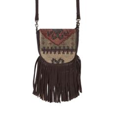 Woven Cotton/Wool Handbag AS IS