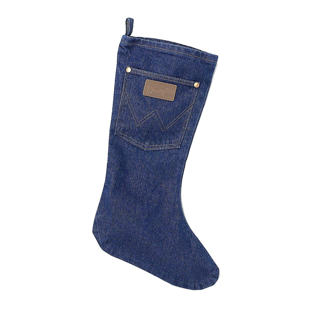 Denim Christmas Stocking