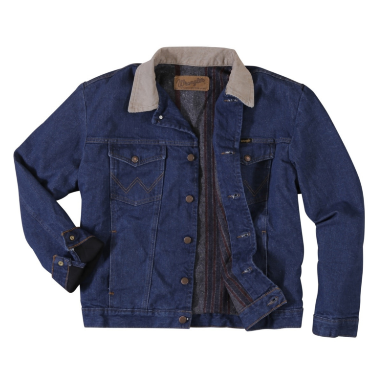 Wrangler | Blanket Lined Denim Jacket