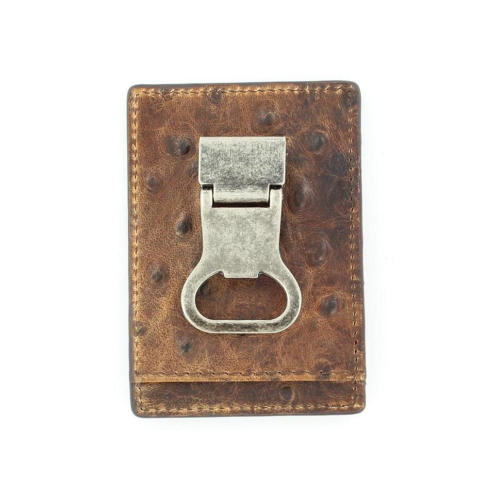 Nocona | DBL Barrel Money Clip Wallet | Brown
