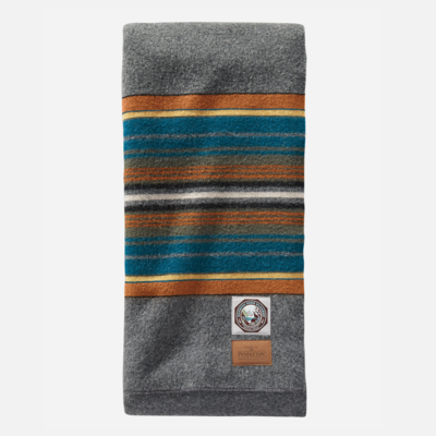 Pendleton National Park Full Blanket in Olympic Grey