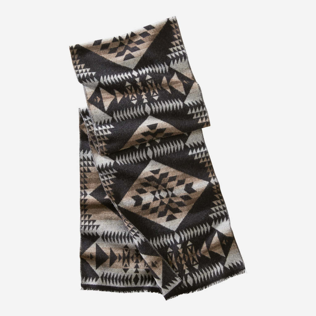 Pendleton Jacquard Scarf in Basketmaker