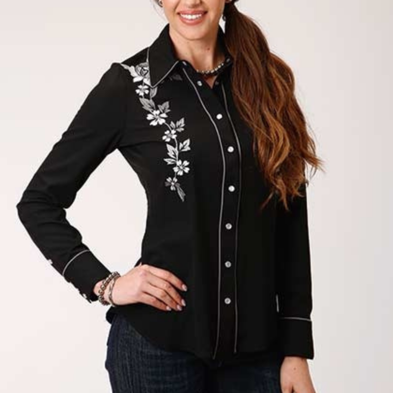 Roper   Old West Collection Embroidered Shirt
