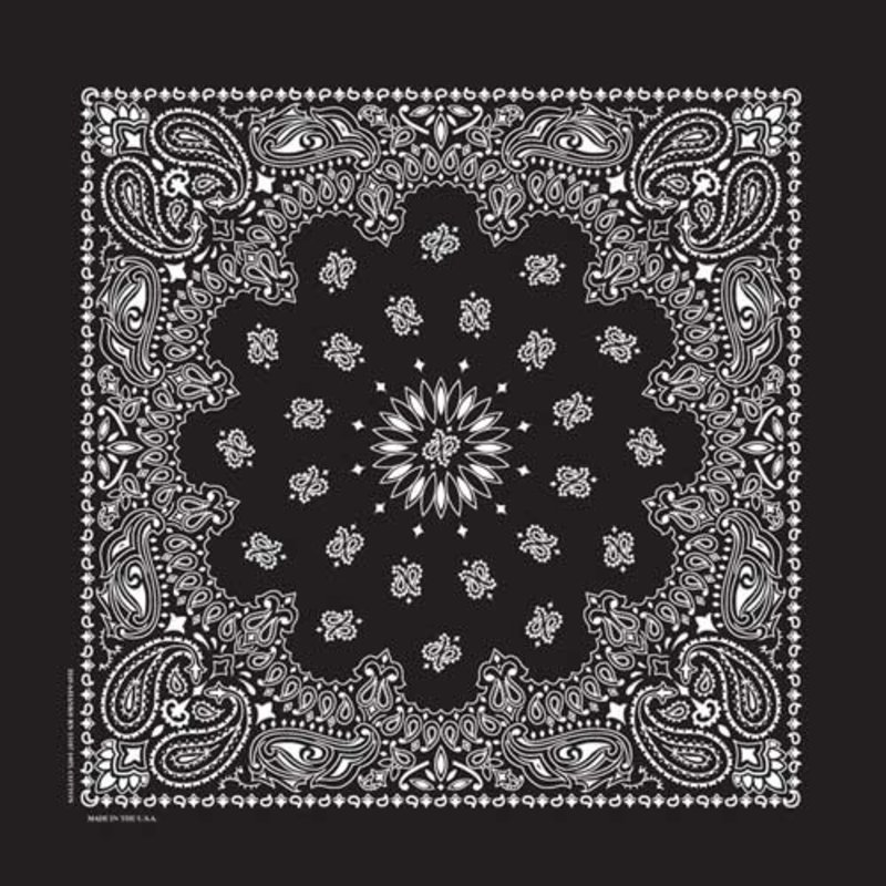 Rockmount Ranch Wear | Black Cotton Bandana