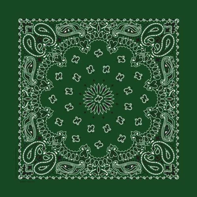 Rockmount Ranch Wear | Green Cotton Bandana