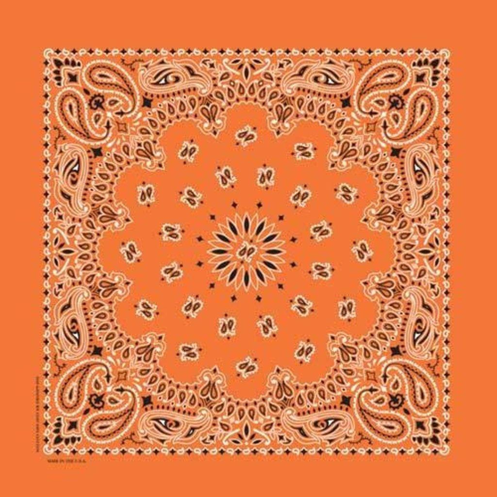 Rockmount Ranch Wear | Orange Cotton Bandana