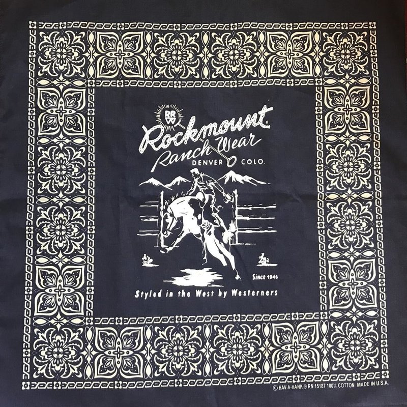 Rockmount Ranch Wear | Rodeo Cotton Bandana