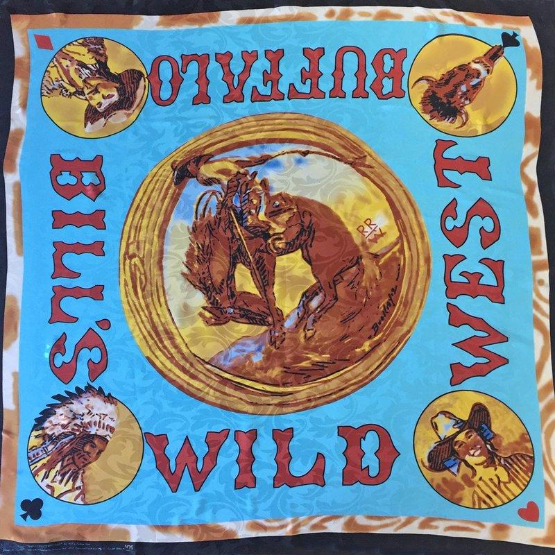"""""""Wild West Buffalo Bill"""" Silk Scarf"""