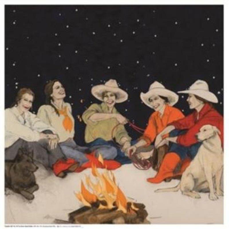 """""""Campfire Girls"""" Silk Scarf"""
