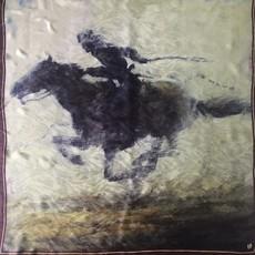 """""""Pony Express"""" Silk Scarf"""