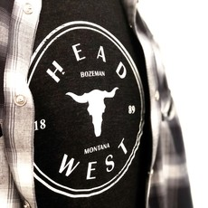 Head West Head West Exclusive | Cow Skull Tee