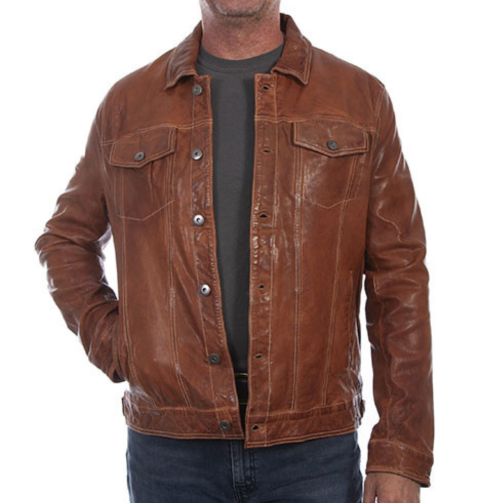 Scully   Leather Jacket