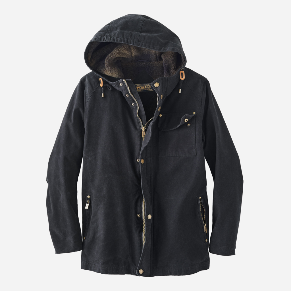 Pendleton Brothers - Hooded Timber Cruise in Black