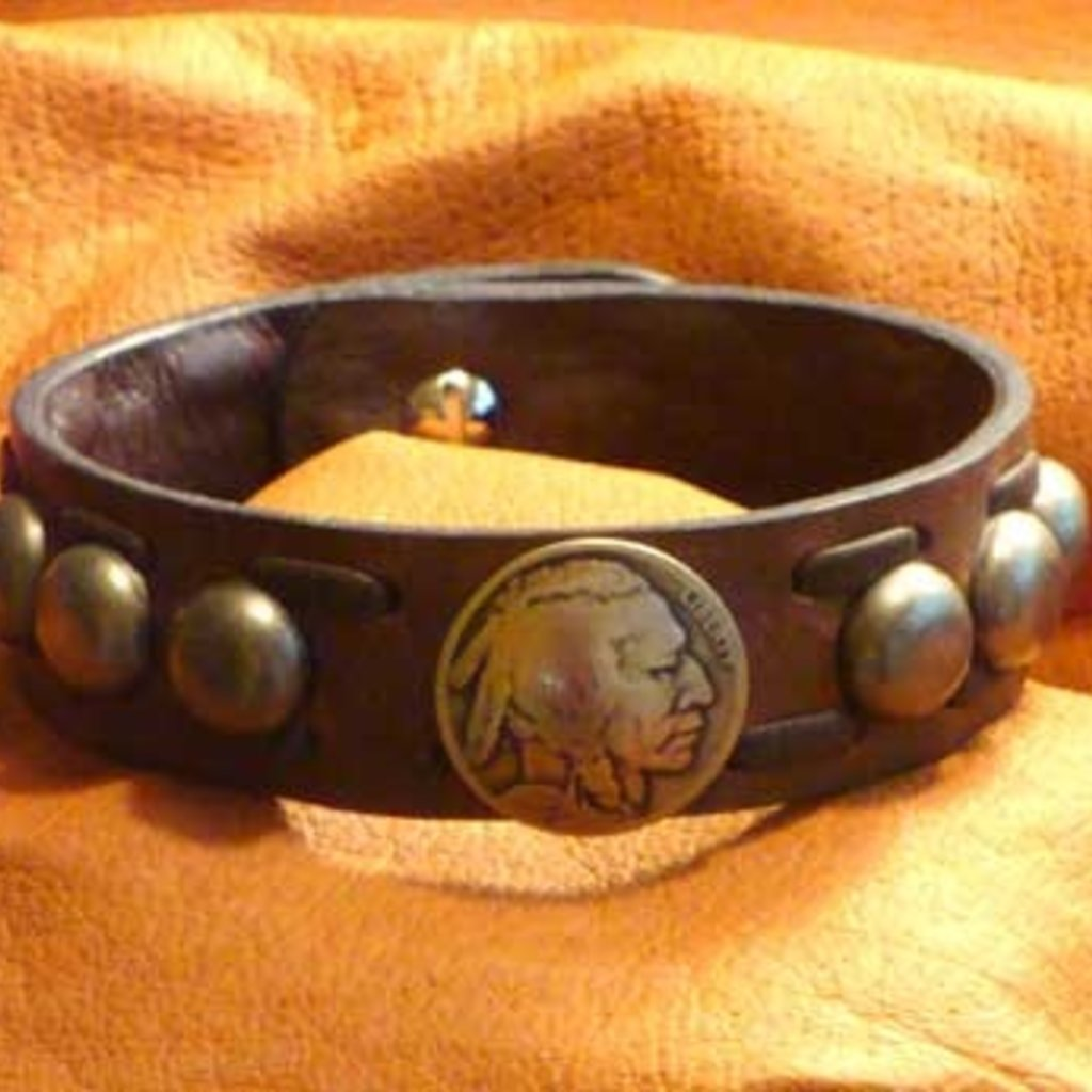 Cripple Creek | Buffalo Nickel Domes Bracelet