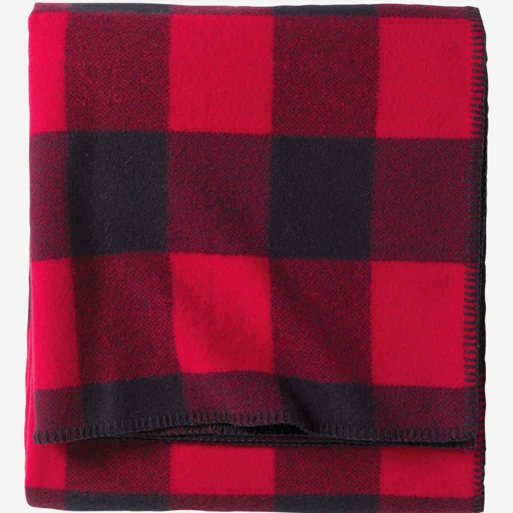 Pendleton Pendleton   Queen Blanket   Eco-Wise   Rob Roy Red