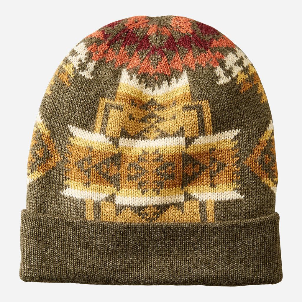 Pendleton Pendleton | Wool Knit Beanie | Chief Joseph Olive