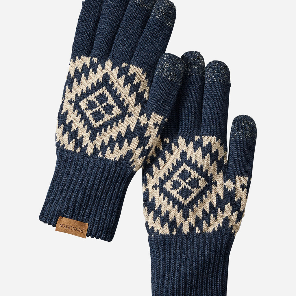 Pendleton Pendleton | Wool Texting Glove | Journey West in Navy