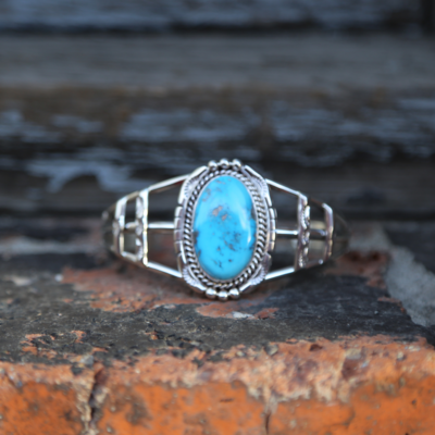Turquoise Cuff | Sterling
