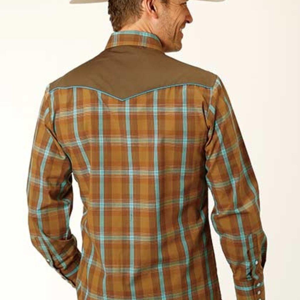 Roper | Plaid Western Snap Shirt