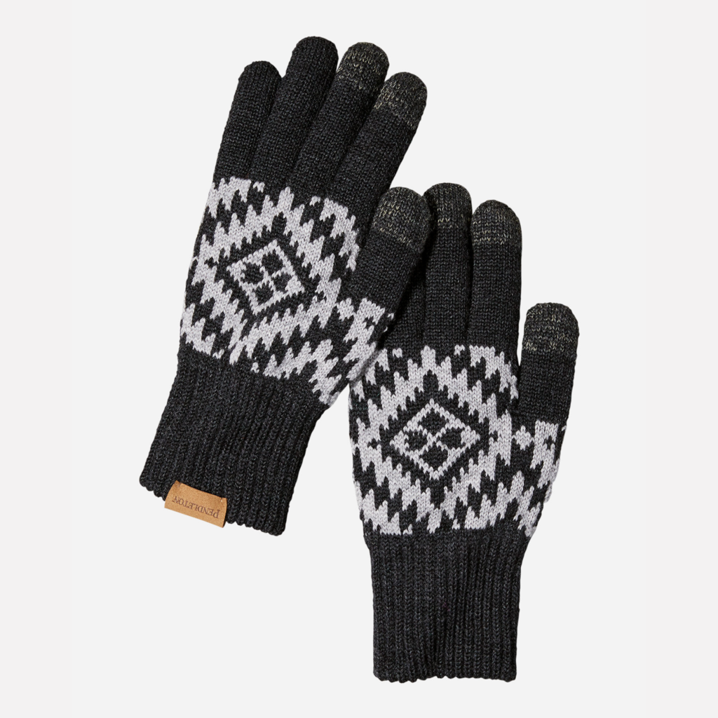 Pendleton Pendleton | Wool Texting Glove | Journey West in Black