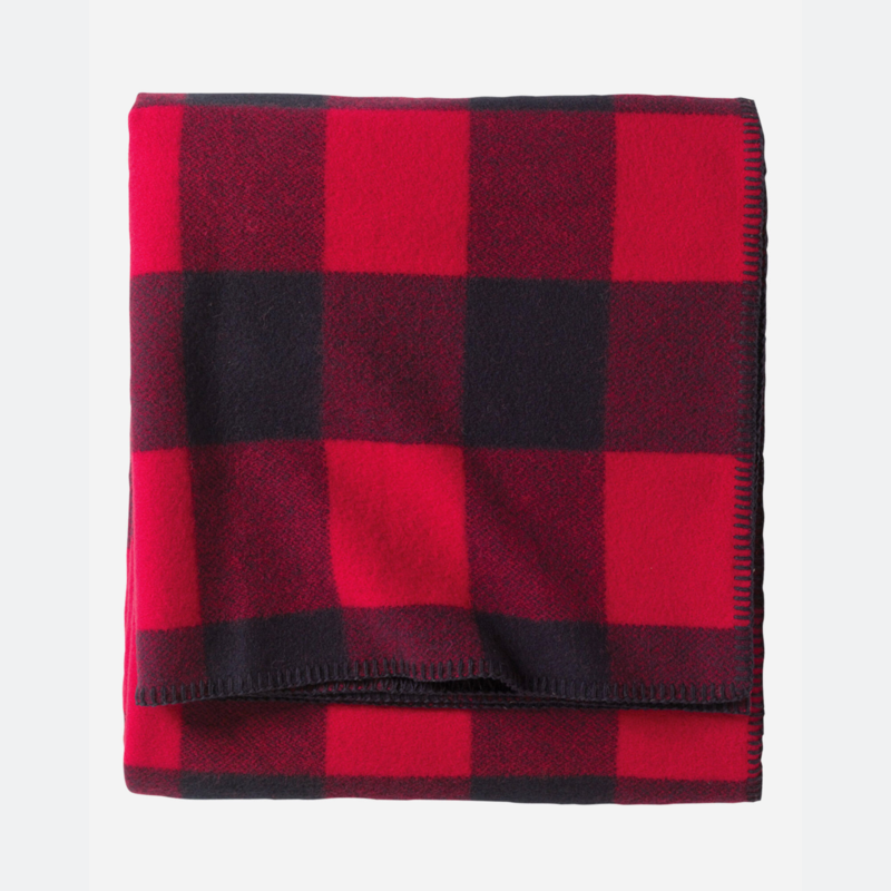 Pendleton Queen Blanket | Eco-Wise in Rob Roy Red