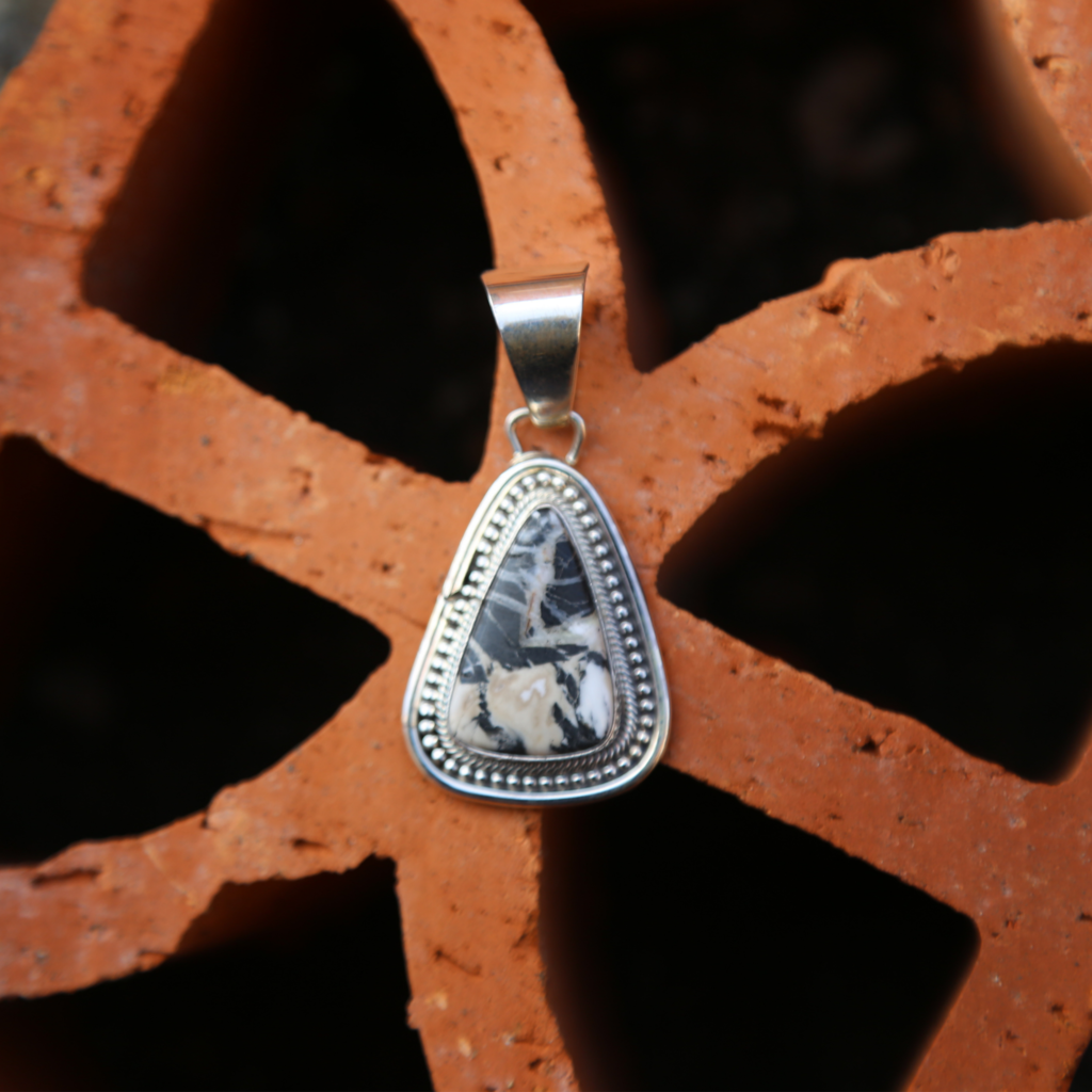 White Buffalo | Sterling Pendant